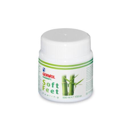 Exfoliant cu bambus și jojoba GEHWOL FUSSKRAFT® Soft Feet Scrub, 500 ml