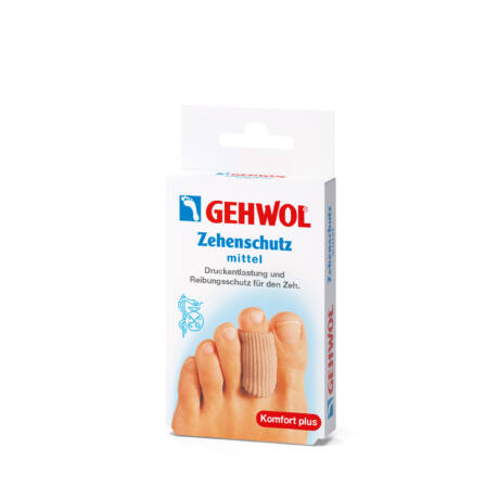 Inel de protecție pentru degete din țesătură-gel GEHWOL - M, 2 buc