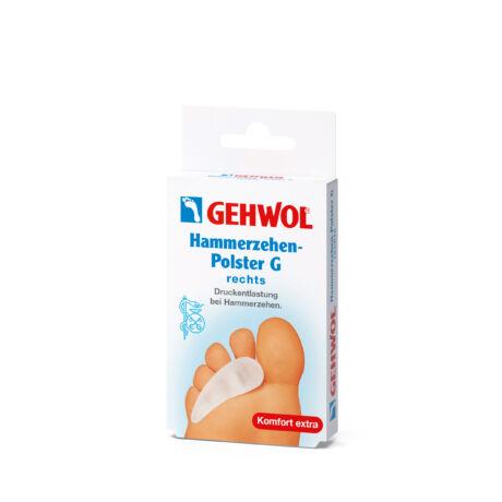Pernă pentru deget în ciocan G GEHWOL - drept, 1 buc