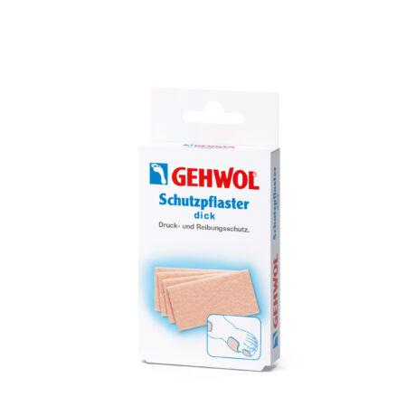 Plasture de protecție gros, care poate fi tăiat la dimensiunea dorită GEHWOL - 4 buc
