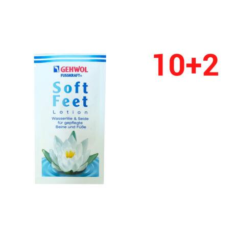 Set mostre loțiune cu nufăr și mătase GEHWOL FUSSKRAFT® SOFT FEET LOTION 10+2 buc