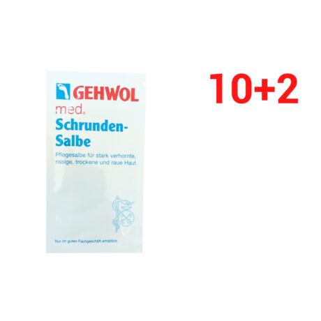 Set mostre unguent pentru piele crăpată GEHWOL MED 10+2 BUC