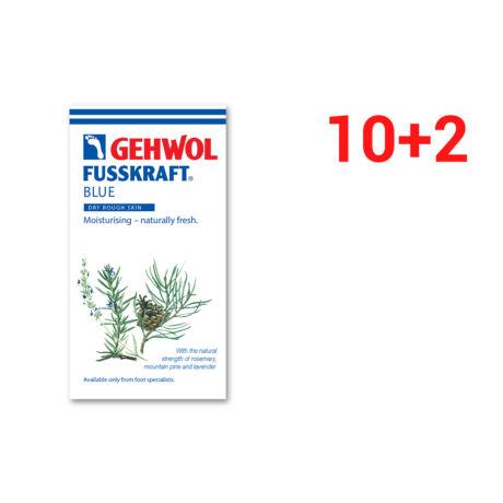 Set mostre GEHWOL FUSSKRAFT® BLUE pentru piele uscată și aspră 10+2 BUC