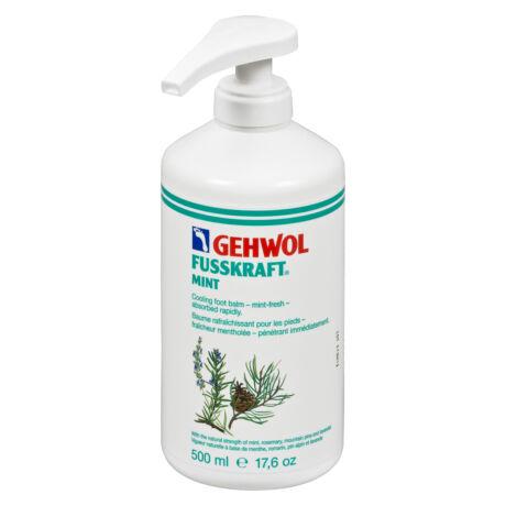 GEHWOL FUSSKRAFT® MINT balsam cu efect răcoritor de mentă, 500 ml