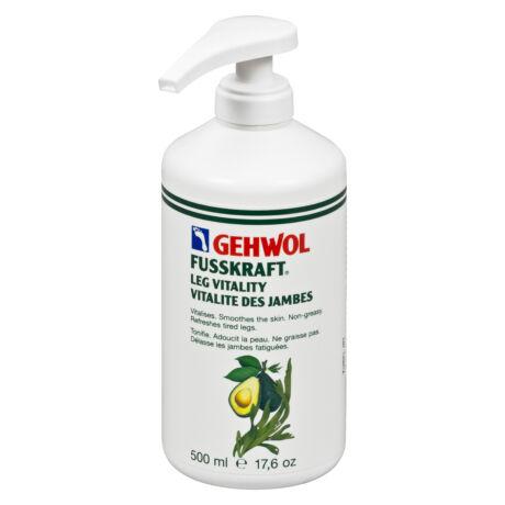 Balsam revitalizant GEHWOL FUSSKRAFT® Leg Vitality, 500 ml