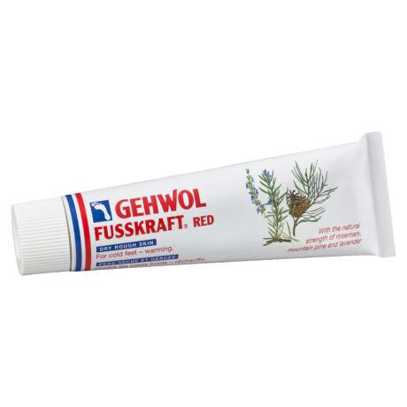 GEHWOL FUSSKRAFT® RED cu efect de încălzire pentru picioare reci și piele uscată și aspră, 75 ml