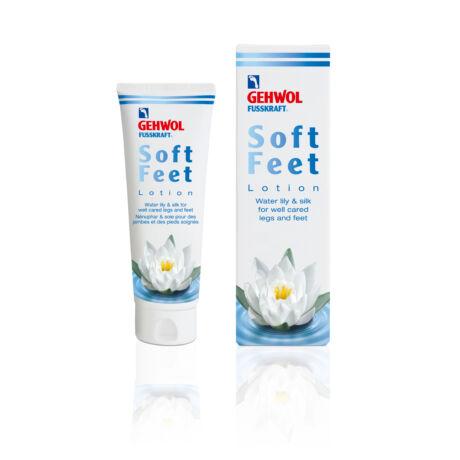 Loțiune cu nufăr și mătase GEHWOL FUSSKRAFT® Soft Feet Lotion, 125 ml