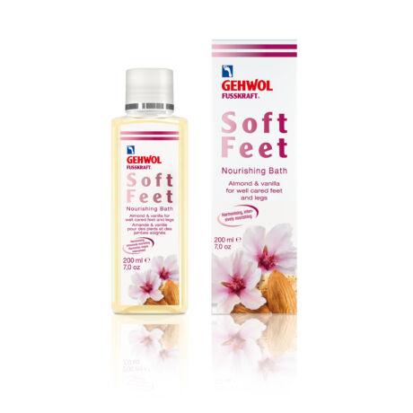 Esență pentru băi de picioare GEHWOL FUSSKRAFT® Soft Feet Nourishing Bath, 200 ml