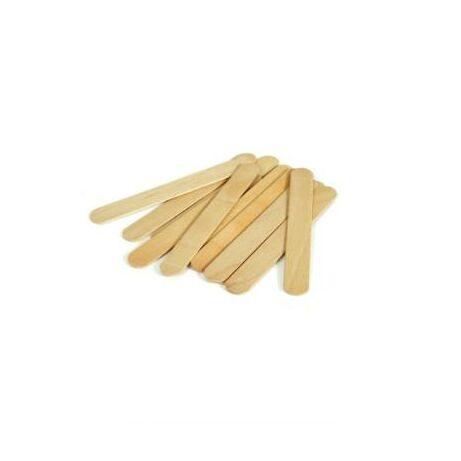 Spatule lemn pentru ceară 100buc