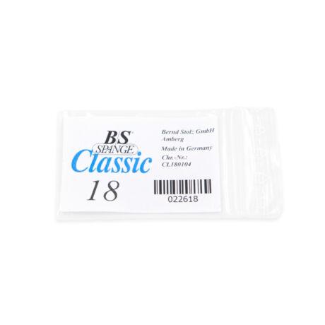 B/S Bandă pentru corectarea unghiilor încarnate, mărime 18, 0.26 mm, 10buc/pachet